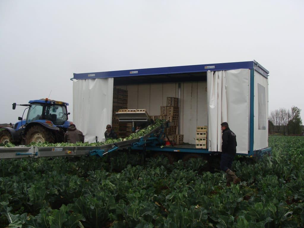 Vegetable trailers