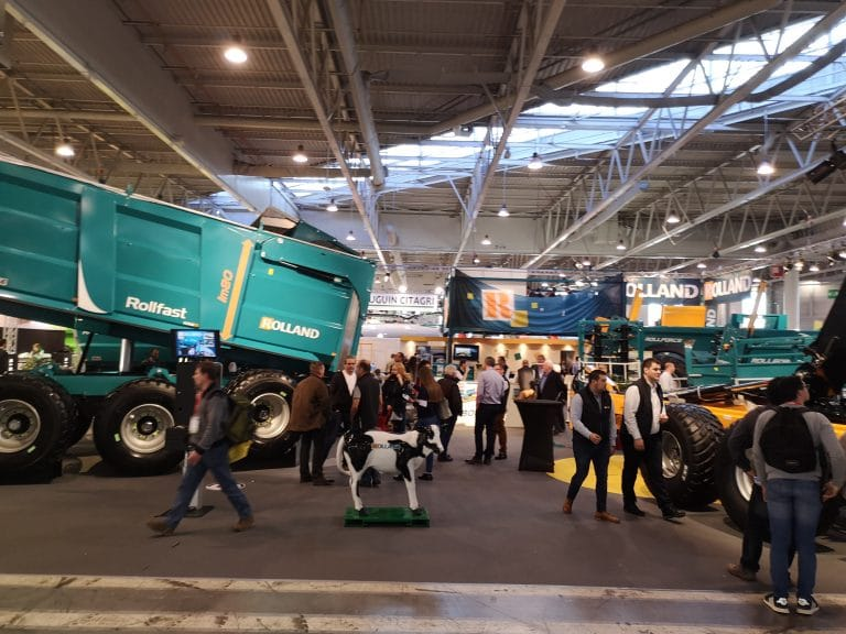 SIMA: 700m2 and 12 vehicles on display
