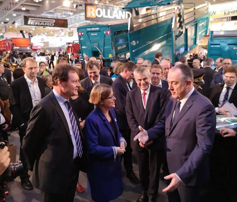 Exchange with the French Minister of Agriculture
