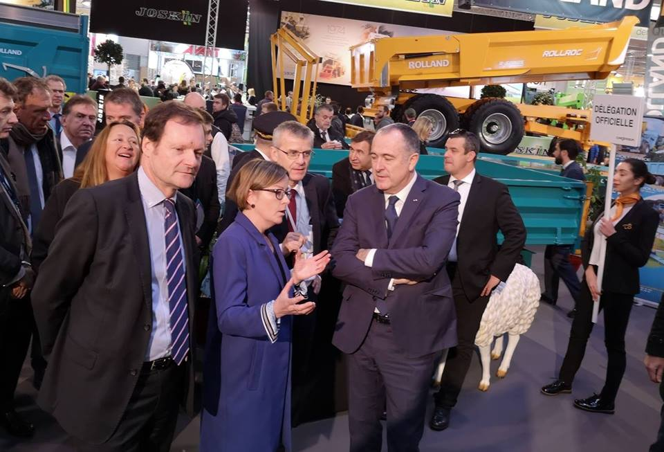 Didier Guillaume, French Minister of Agriculture